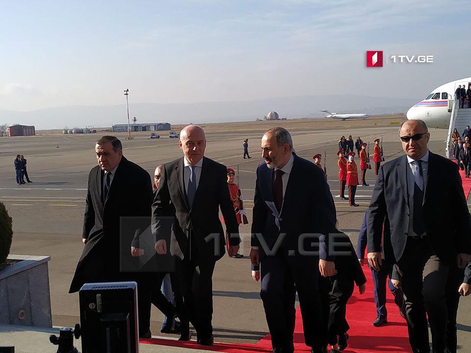 Gürcüstan Nikol Paşinyanın rəsmi səfəri başladı