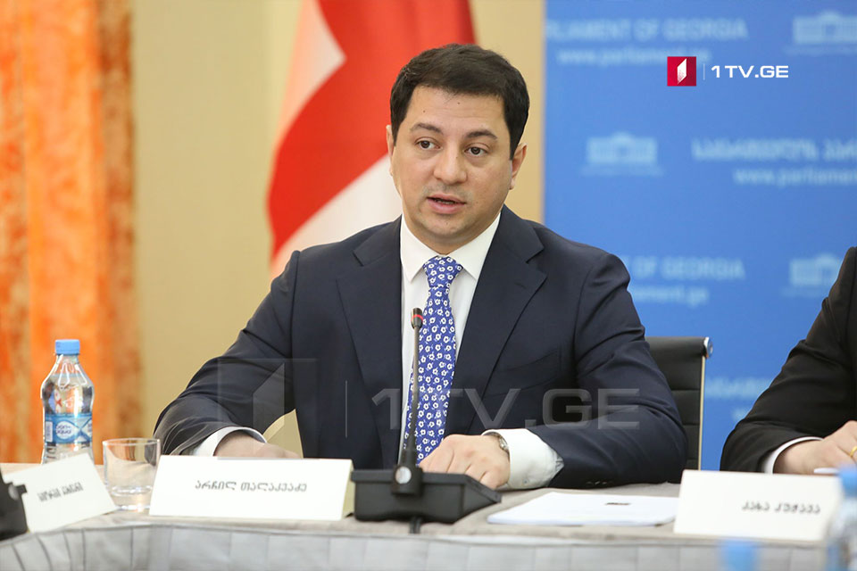 Арчил Талаквадзе - Утверждением конституционных изменений, Грузия еще раз показала обществу и партнерам, что готова укреплять демократию