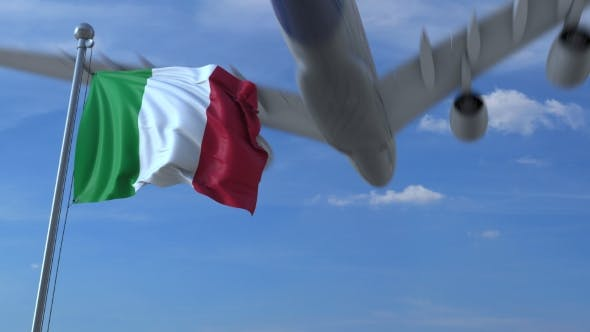 Direct Flights with Italy temporarily suspended