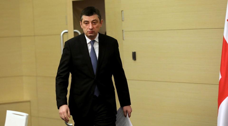 Георгий Гахария представит парламенту отчет о чрезвычайном положении