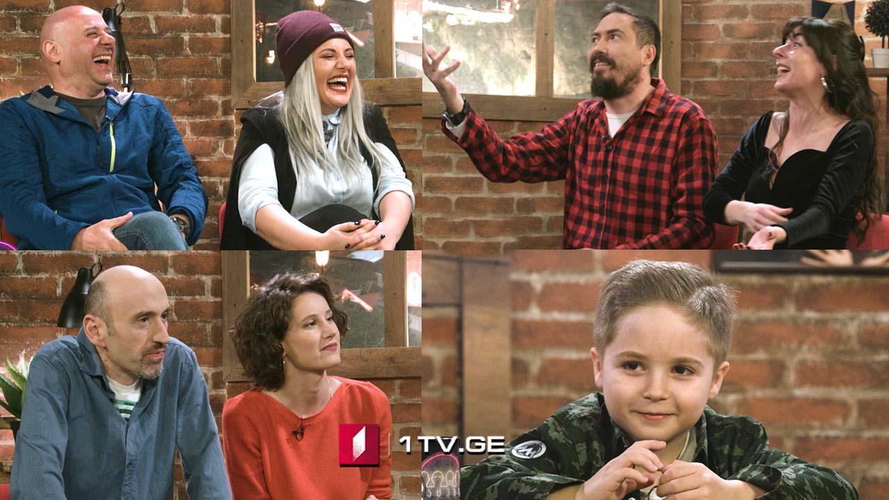"""კაცები პირველზე! სტუმრები: ნინო შავგულიძე, მარი არღუთაშვილი და ანანო სირბილაძე - სერიალ """"იდეალური დედის"""" მსახიობები"""