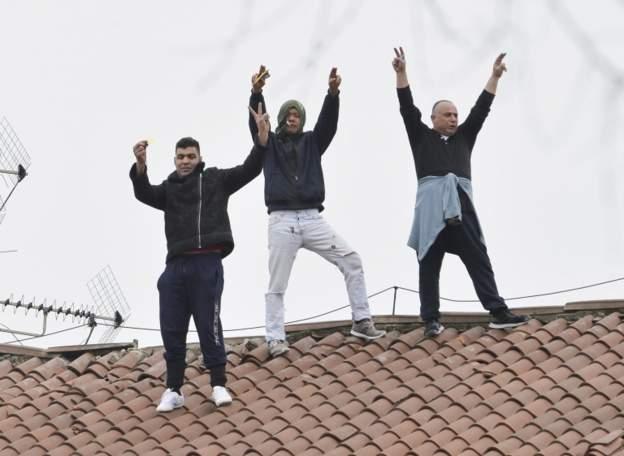 პატიმრების ამბოხი იტალიის კიდევ 26 ციხეში მოხდა
