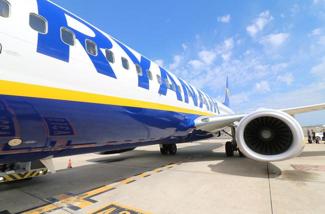 """""""რაინეარი"""" 8 აპრილამდე იტალიაში ყველა ფრენას წყვეტს"""