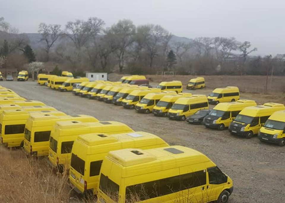 რუსთავი-თბილისის მიმართულებით მოძრავი მიკროავტობუსების მძღოლთა ნაწილი დღეს სამუშაოდ არ გავიდა