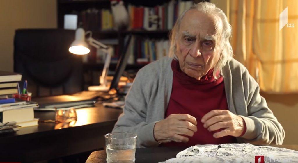 Writer and Philosopher Givi Margvelashvili died