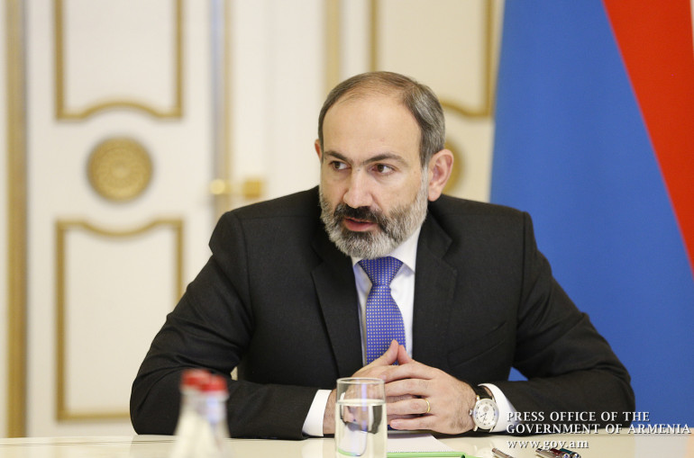 Nikol Pashinyan tests positive for COVID-19