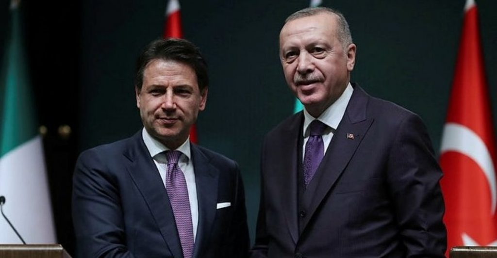 თურქეთის პრეზიდენტმა და იტალიის პრემიერ-მინისტრმა კორონავირუსთან ბრძოლის ერთობლივ ზომებზე ისაუბრეს