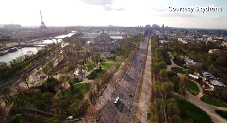 Փարիզը՝ պարտադիր կարանտինում (վիդեո)