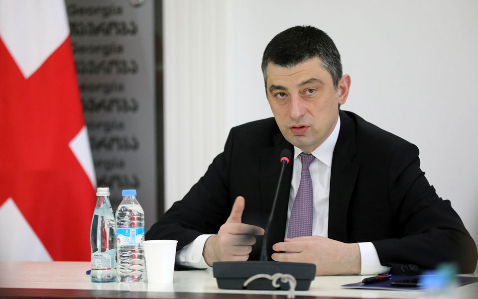 Giorgi Gakharia instructed law-enforcement bodies to effectively enforce restrictions set for state of emergency