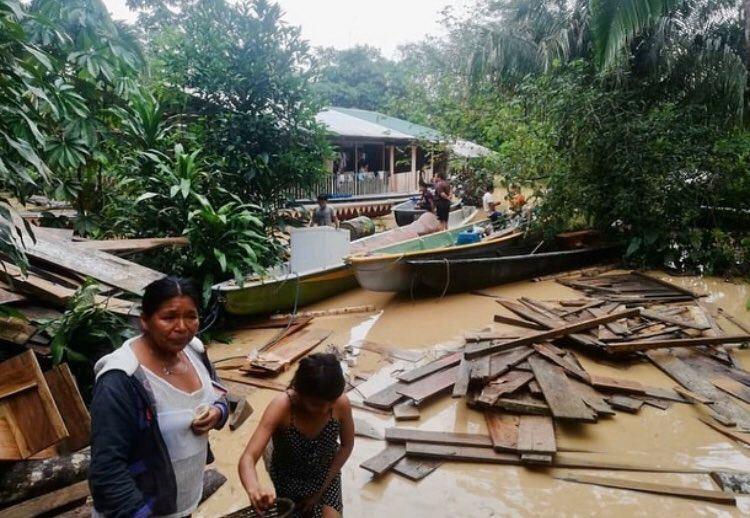 ეკვადორში წყალდიდობის გამო ასობით ოჯახი სახლის გარეშე დარჩა