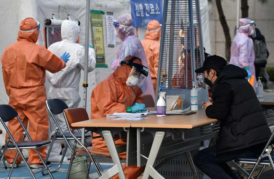 სამხრეთ კორეაში კორონავირუსით ინფიცირებულთა რიცხვი 8652-მდე გაიზარდა, გარდაცვლილია 94 ადამიანი