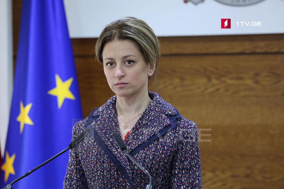 Екатерина Тикарадзе - Китай выделил в подарок тысячу тестов, которые будут в Грузии в начале будущей недели