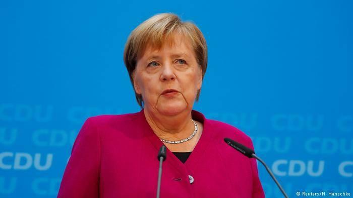 German Chancellor Angela Merkel quarantined