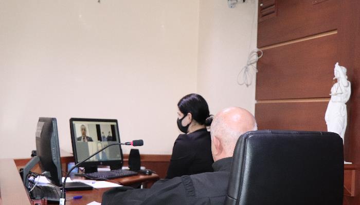 სასამართლომ აღკვეთის ღონისძიების შუამდგომლობა დისტანციურ რეჟიმში განიხილა