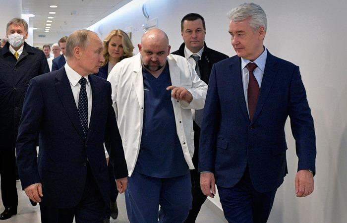 """მოსკოვის მერი რუსეთის რეგიონების მთავრობებს """"რთული სცენარებისთვის მზადებისკენ"""" მოუწოდებს"""