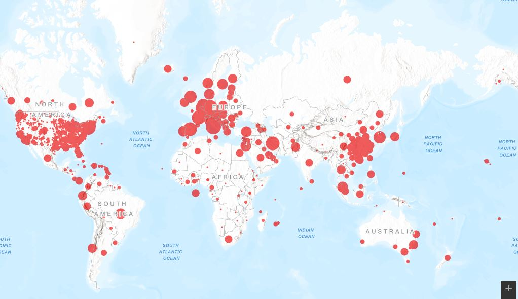 ქვეყნები, სადაც ახალი კორონავირუსი ჯერ არ დაფიქსირებულა