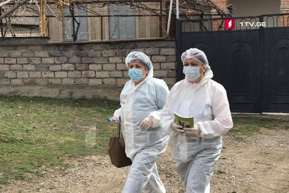 ბოლნისის მუნიციპალიტეტში მოქალაქეების სამედიცინო შემოწმება მიმდინარეობს