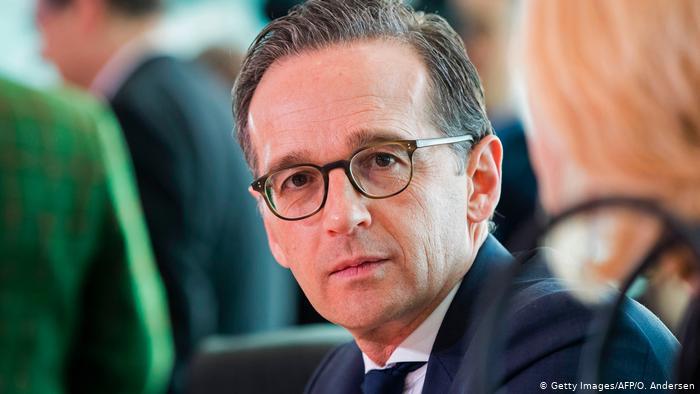 გერმანიის საგარეო საქმეთა მინისტრი ჰაიკო მაასი თვითიზოლაციაშია