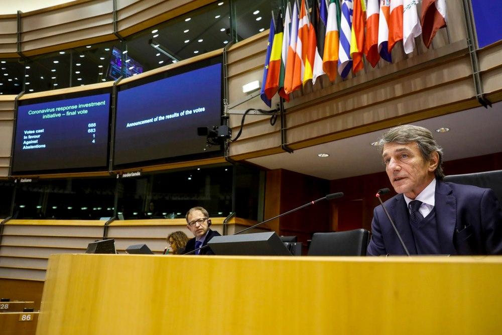 ევროპულმა პარლამენტმა ევროკავშირის ქვეყნებში ეკონომიკური კრიზისის დასაძლევადსაგანგებო ზომების პაკეტი დაამტკიცა