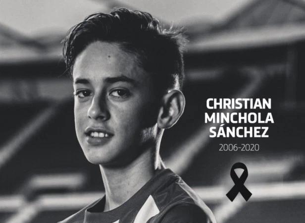 """""""ატლეტიკო"""" თავისი 14 წლის ფეხბურთელის გარდაცვალებას გლოვობს"""