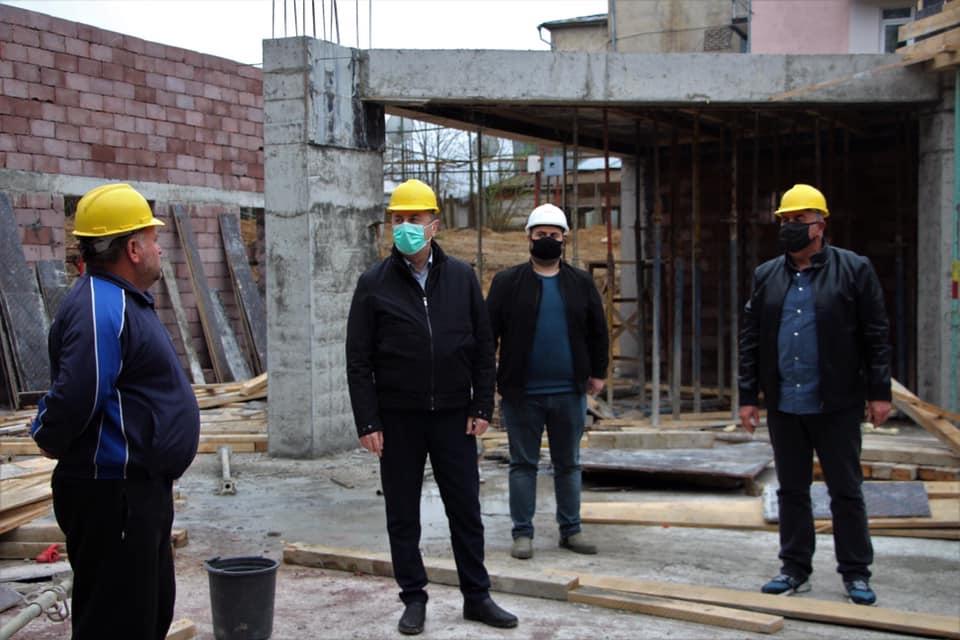 ოზურგეთში, დაბა ნასაკირალში 600 მოსწავლეზე გათვლილი სკოლის მშენებლობა მიმდინარეობს