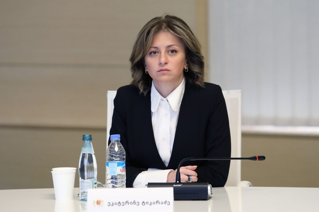 Ekaterine Tikaradze - Peak stage is expected from the second half of April