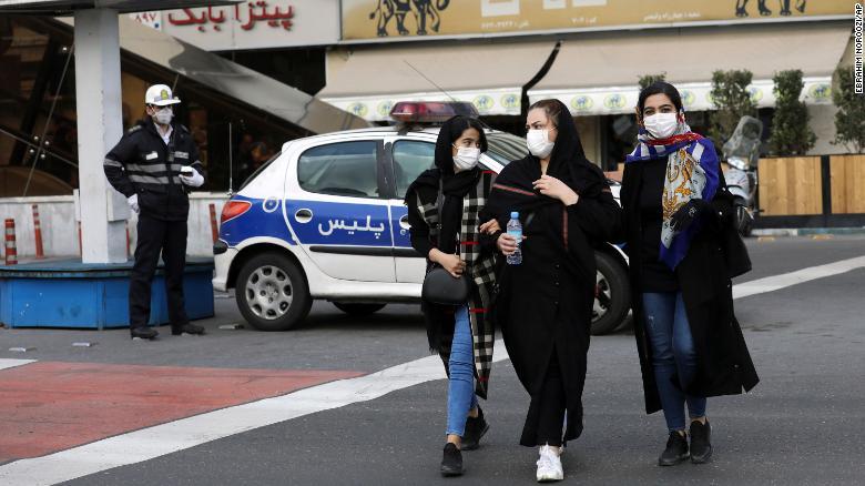 İranda son 24 saat ərzində koronavirusa 2 897 insan yoluxdu