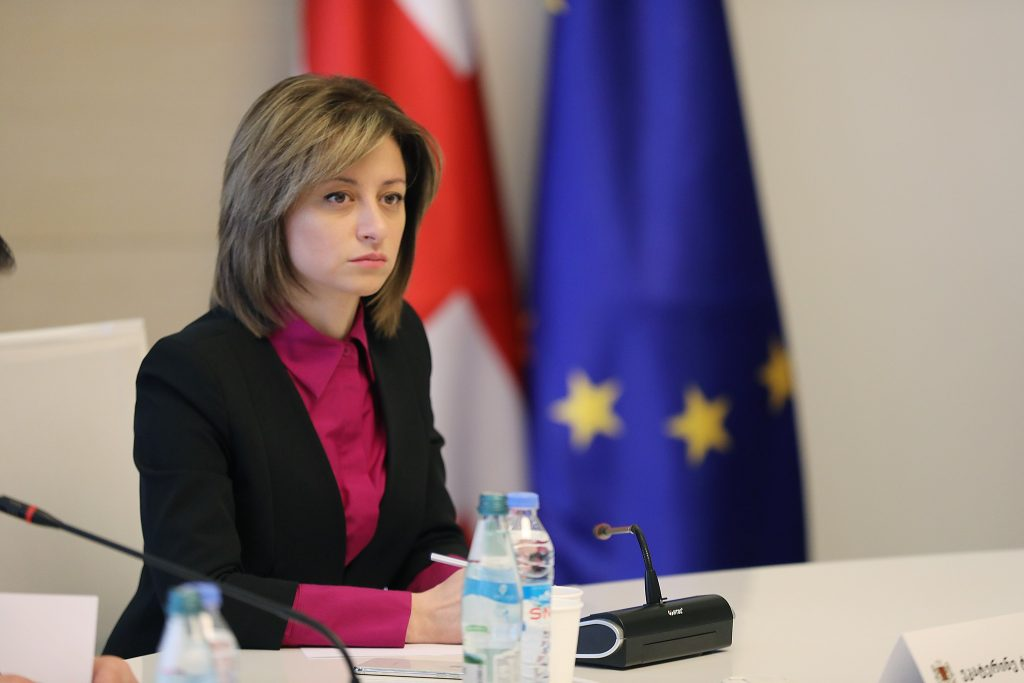 ეკატერინე ტიკარაძე - საქართველოში პირადი დაცვის საშუალებების დეფიციტის საშიშროება არ ყოფილა და არც დღეს დგას