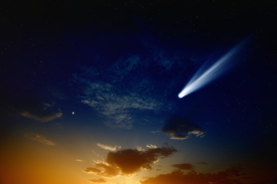 აპრილის ბოლოს, ცაში შეიძლება კაშკაშა კომეტა გამოჩნდეს
