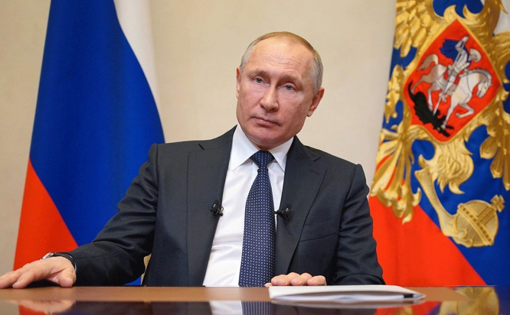 Vladimir Putin addresses nation