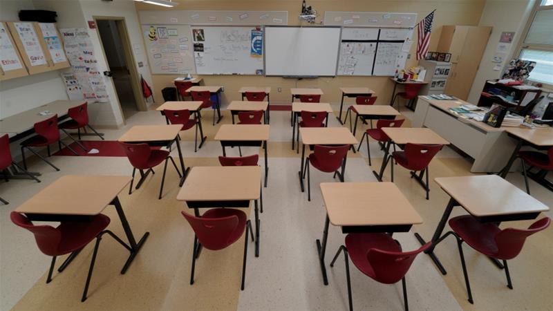 აშშ-ის რამდენიმე შტატში სკოლები მთელი წლით დაიხურა