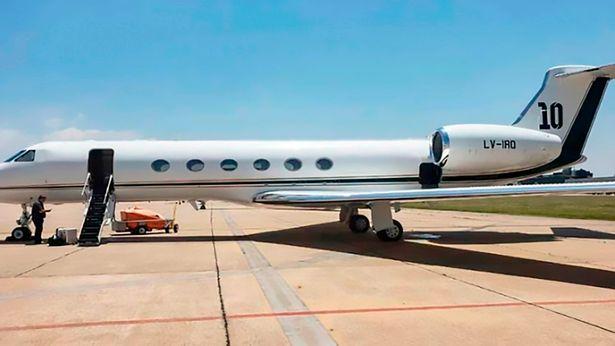 ლიონელ მესის თვითმფრინავი ბრიუსელში იძულებით დაეშვა