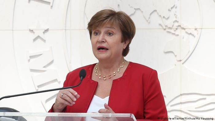 Кристалина Георгиева-Мы никогда не видели такого тупика в мировой экономике