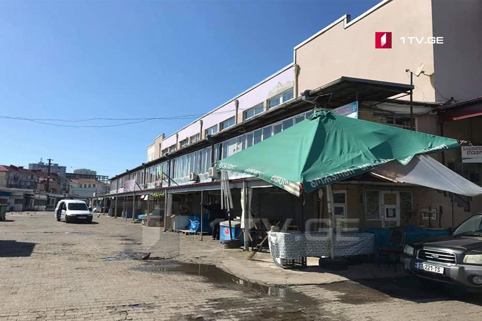 Agrarian markets closed in Batumi