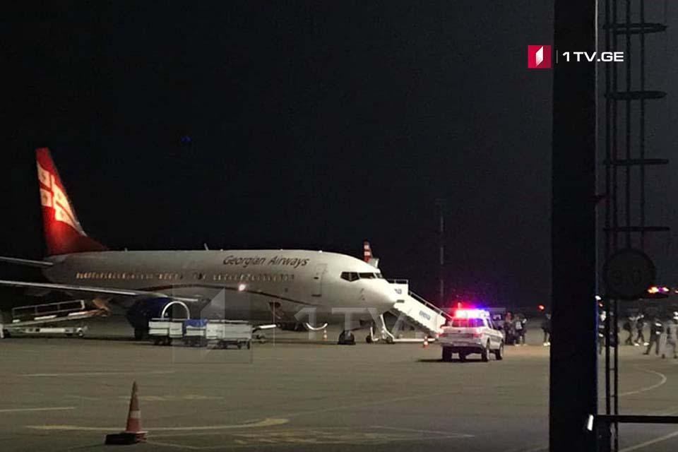 ლონდონიდან საქართველოს 180 მოქალაქე დაბრუნდა