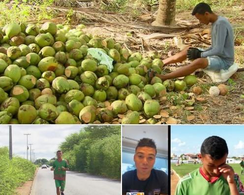 ბრაზილიელი ბიჭი დღეში 2 000 ქოქოსს აგროვებს და 12 კილომეტრს გადის ვარჯიშზე მისაღწევად, მას კაზემირომ და დანი ალვეშმა დაუჭირეს მხარი