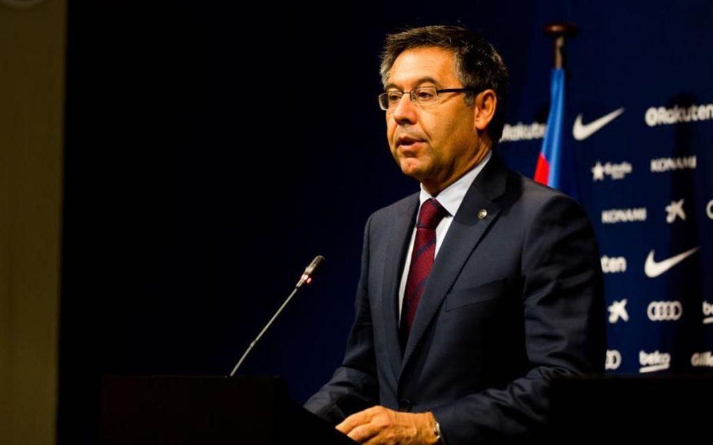 """ესპანური პრესა - """"ბარსელონას"""" პრეზიდენტი კლუბიდან მისთვის არასასურველი ხალხის გაშვებას ცდილობს"""