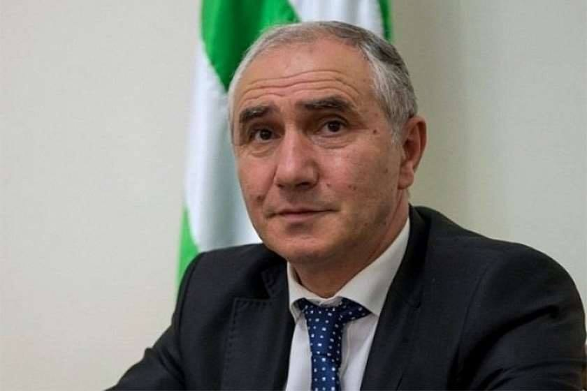 Acting de-facto president of occupied Abkhazia declares curfew in Gagra region