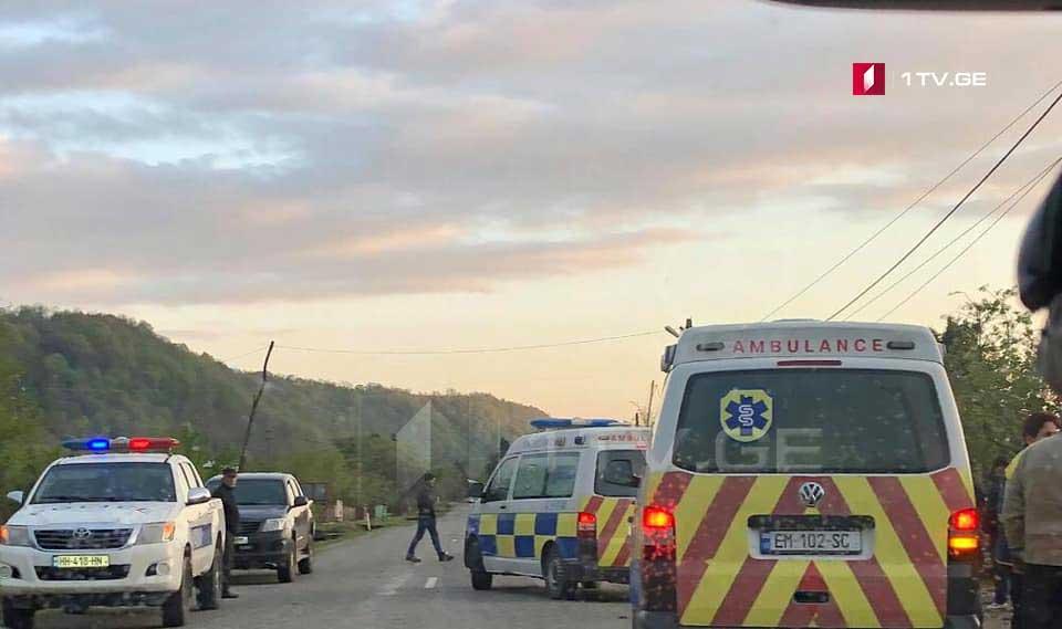 სოფელ ლიაში ავტოსაგზაო შემთხვევის შედეგად სამი ახალგაზრდა დაშავდა