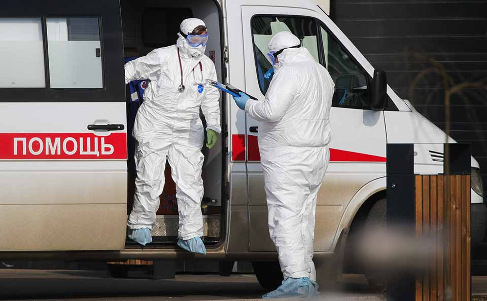 მოსკოვში ბოლო 24 საათში კორონავირუსით38 ადამიანი დაიღუპა