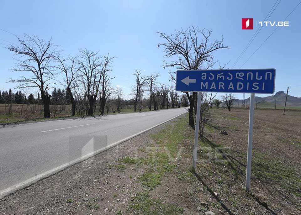 Koronavirus hallarına görə, bütün ailələrin evdə izolasiyada olduğu Marneulinin Maradisi kəndi (foto)