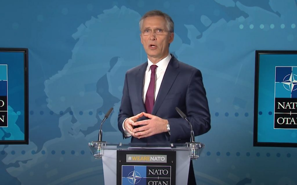 Jens Stoltenberg: NATO continues to work closely with Georgia and Ukraine in Black Sea region
