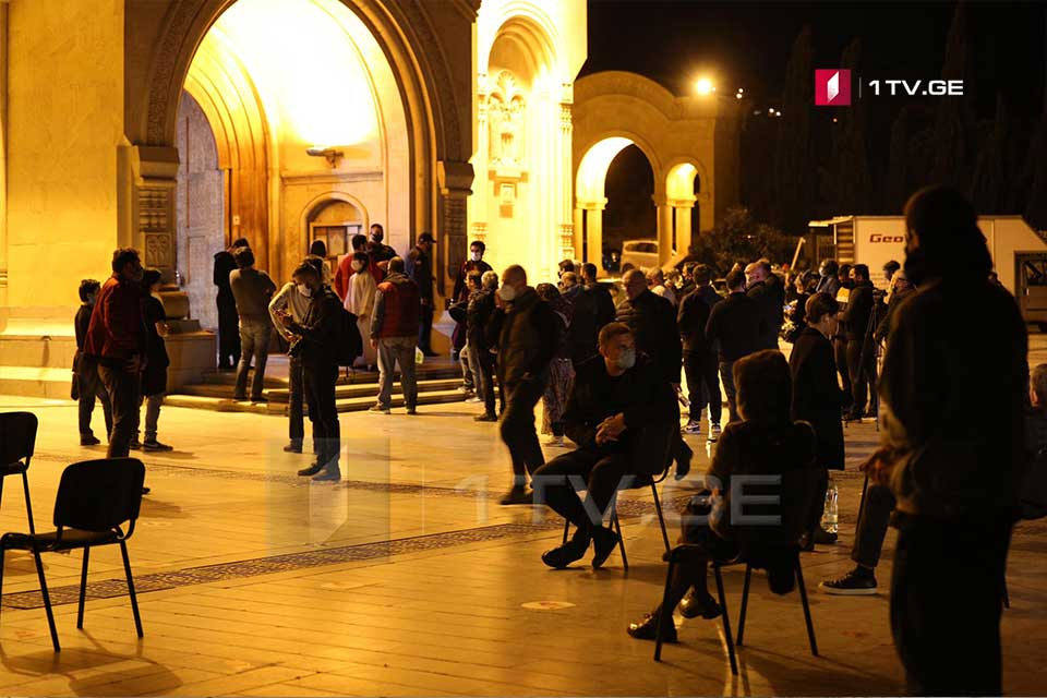 Preparations for Easter Liturgy at Sameba Cathedral (Photo)