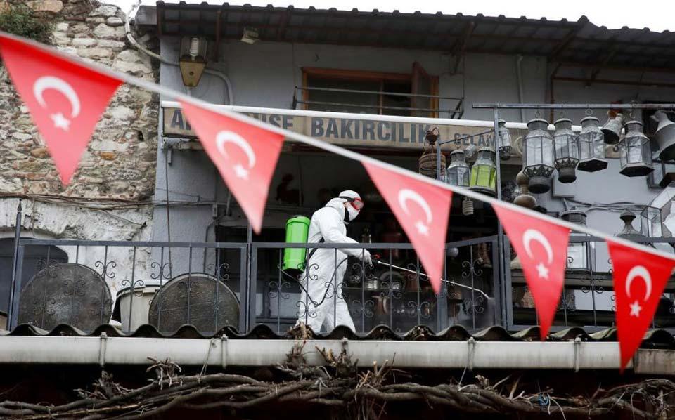 """თურქეთში """"კოვიდ 19""""-ის 972 ახალი შემთხვევა დაფიქსირდა"""