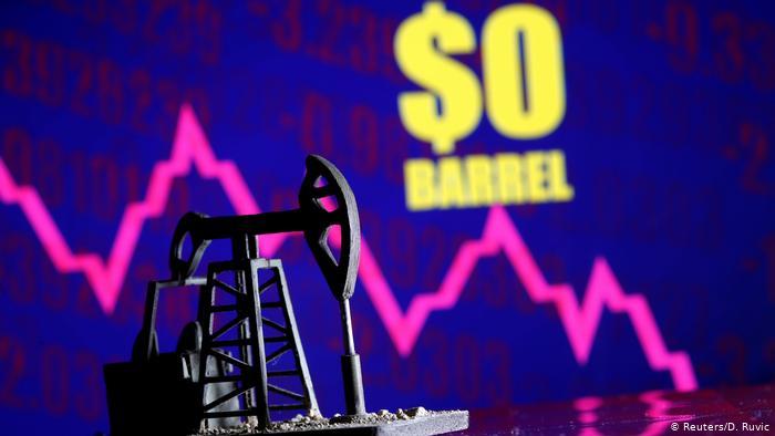 რეკორდული გაუფასურების შემდეგ ნავთობის ფასი გაიზარდა