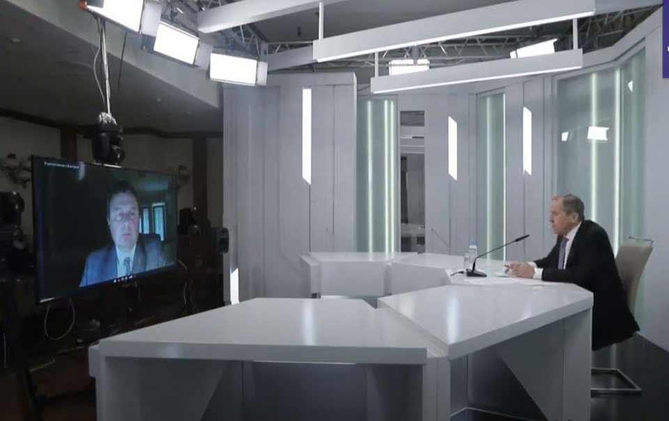 Sergey Lavrov - Gürcüstan prezidentinin bəzi bəyanatı aqressivdir