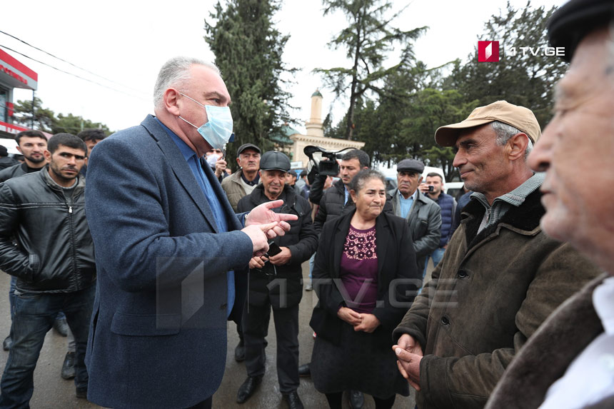 Shota Rekhviashvili: Carrier companies arrived in Marneuli villages for product purchase