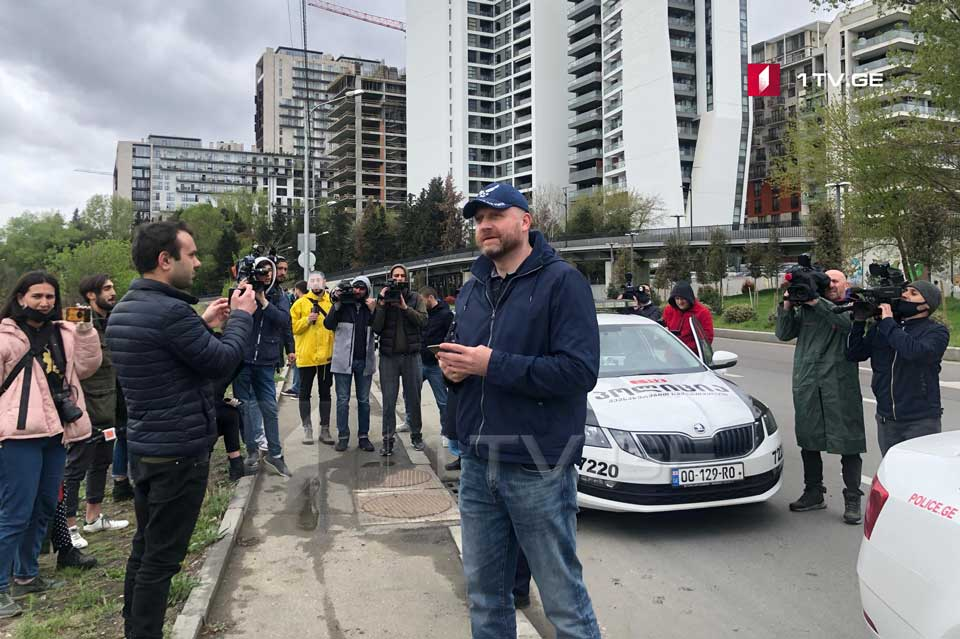 Zurab Japaridze and several citizens detained for holding rally at the hippodrome