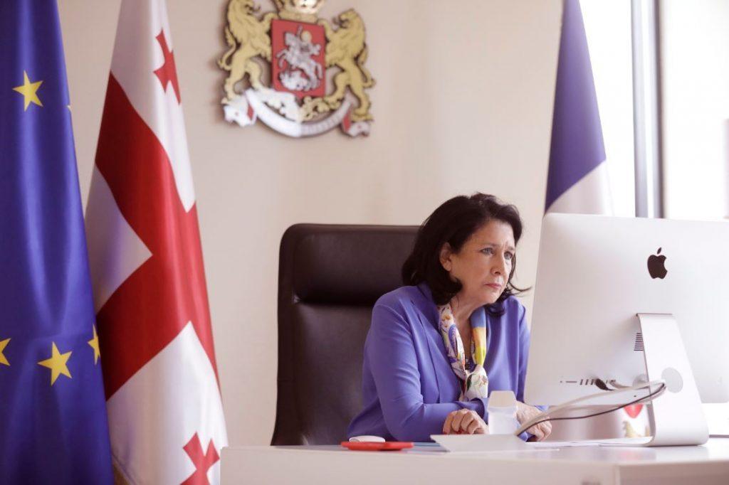 Salome Zurabişvili koronavirus ilə bağlı mövcud durum barəsində bolqar həmkarı ilə video zənglə danışdı