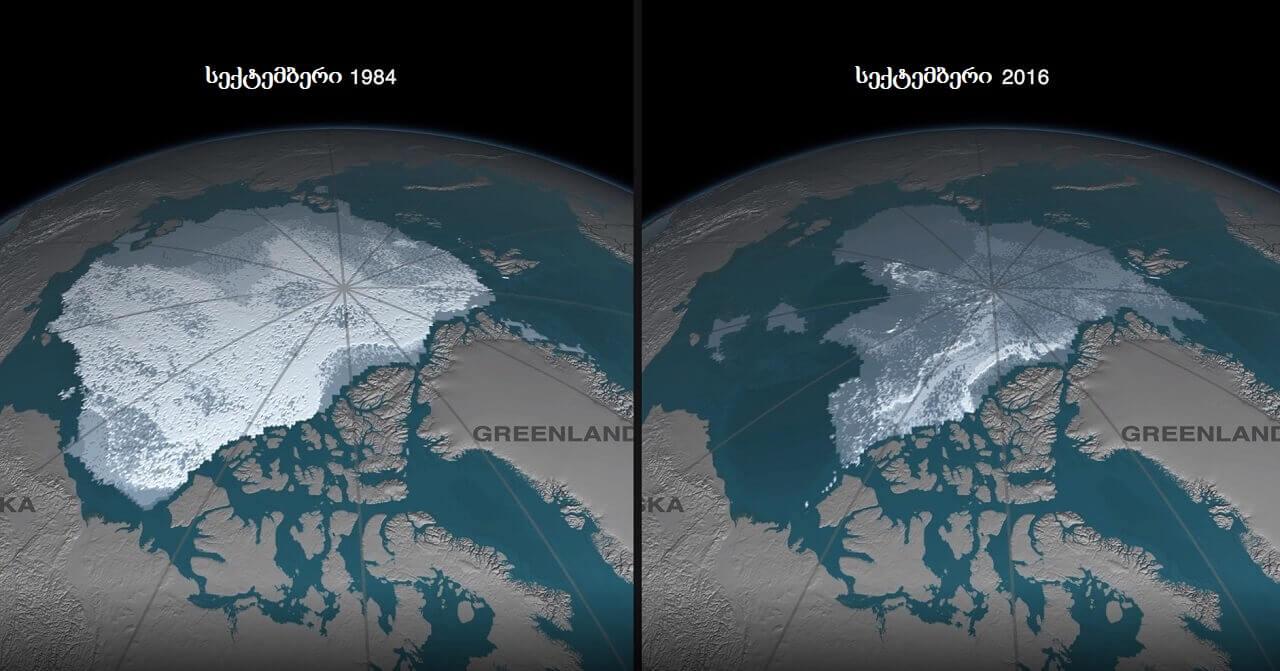 2050 წლიდან, ზაფხულობით არქტიკაში ყინული მთლიანად გაქრება — ახალი კვლევა